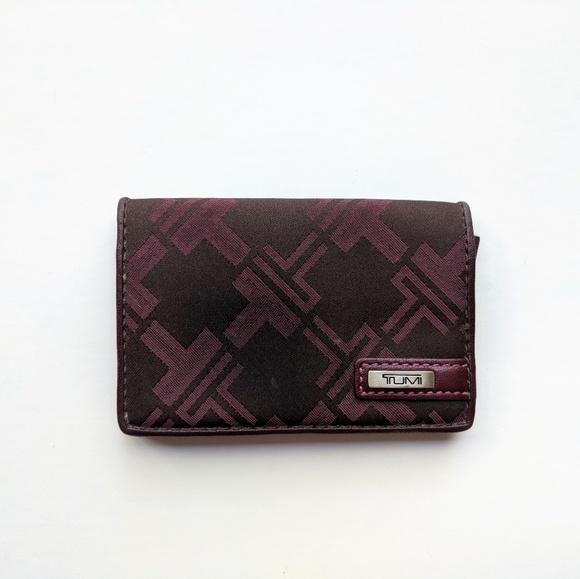Tumi accessories business card case holder poshmark tumi business card case holder colourmoves